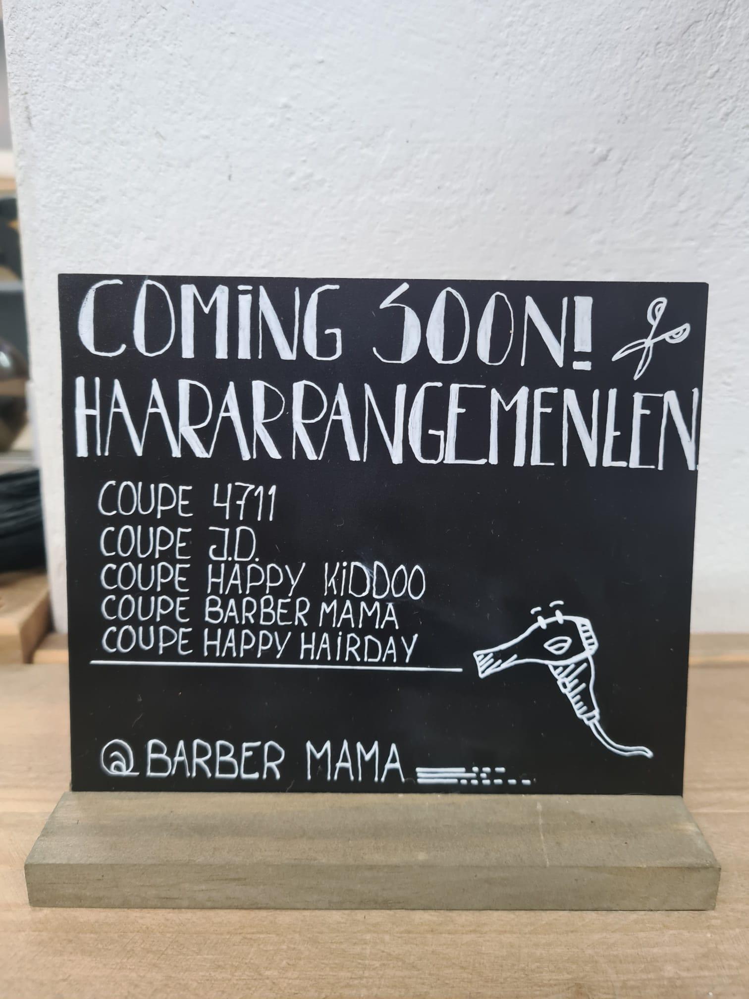 Een nieuw tijdperk: Barber Mama